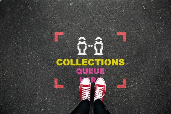 Collections Queue Here