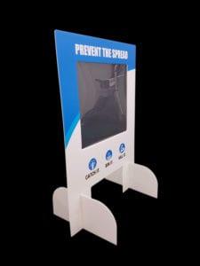 Sneeze Screen for Countertop