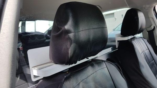 Taxi Screen headrest clamp