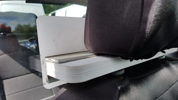 Taxi Screen Headrest Claps2