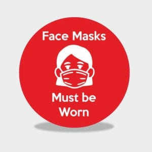 Face Masks Must be Worn - female